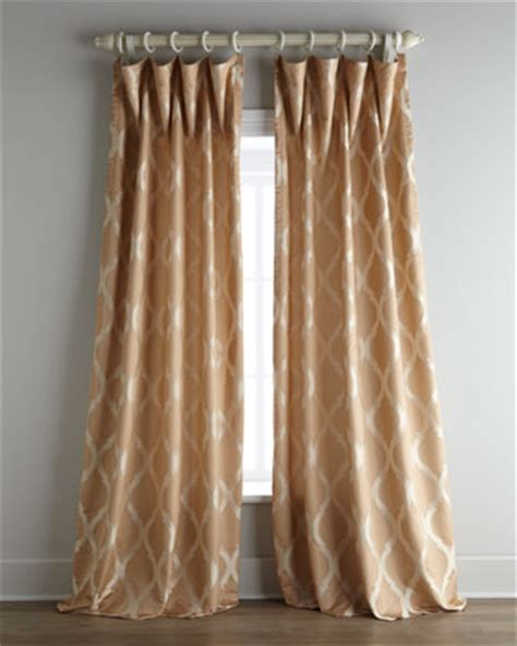 horchow drapes close drawer