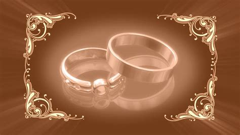 Animation Wedding by Glisten Spirals 15 Stock Footage 3652976