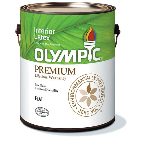 olympic interior paint shop olympic ultra white flat interior paint actual