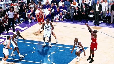 michael jordan 1998 nba finals top finals moments iverson s jumper and step over nba com