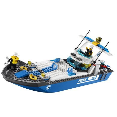toy lego boat lego city police boat 7287 building toy