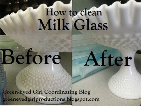 How To Clean Vases by Green Eyed Productions How To Clean Milk Glass Vases