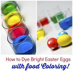 food coloring egg dye how to dye bright easter eggs with food coloring ebay