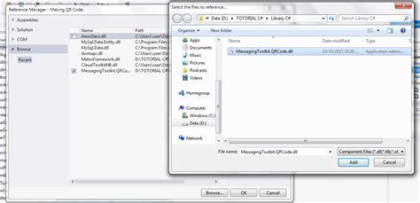 belajar membuat qr code belajar c tutorial c membuat aplikasi qr code sederhana