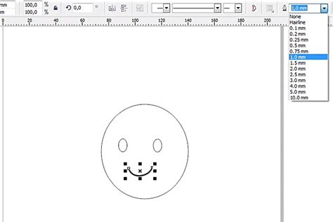 membuat outline novel my story membuat simple smiley dengan corel draw x5