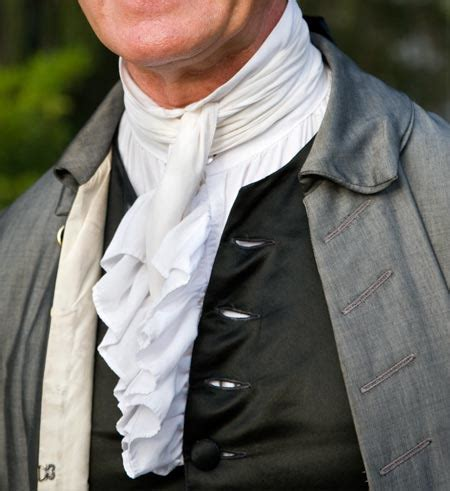 a colonial gentlemen's clothing: a glossary of terms : the