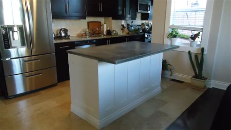 kitchen counter island building a kitchen island small space style