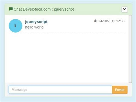 tutorial jquery plugin multi user chat plugin with jquery and html5