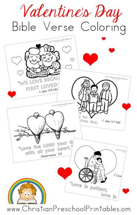 christian coloring pages for valentines day valentine day cards sunday school and homeschool on pinterest