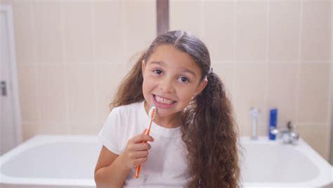 bathroom pov brushing teeth mouth pov stock footage video 4635914