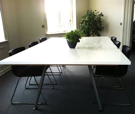 ikea hackers make your own conference table cool tips