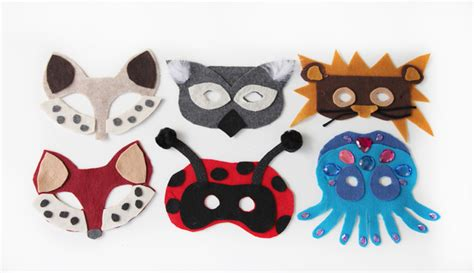 mask diy diy no sew animal masks free template pretty prudent