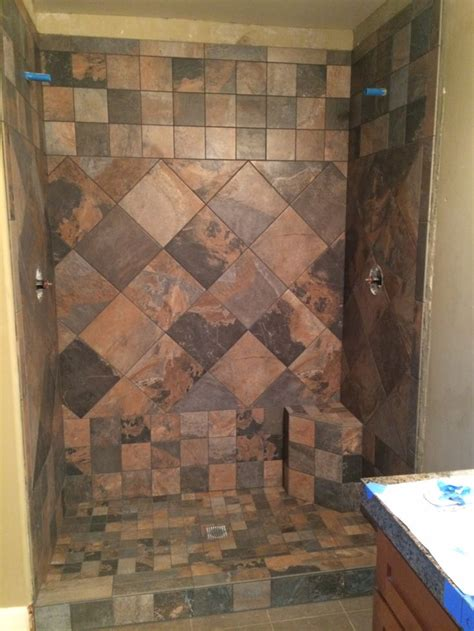 77 best images about slate tile showers on pinterest 77 best images about slate tile showers on pinterest
