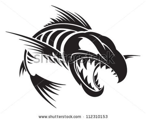 Clip Fish Skeleton fish skeleton clipart