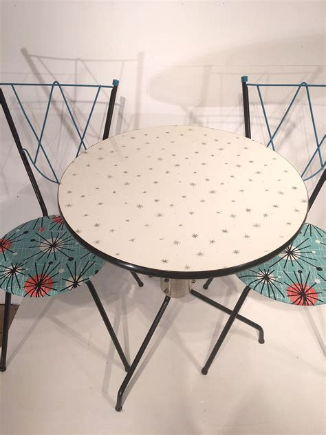 table and 2 chairs for sale vintage dining set with 1 table and 2 chairs for sale at