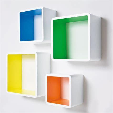 on the shelf colors colour pop accessories set of 4 wall shelves shelves