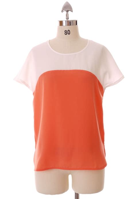 coral color shirt simple contrast color shirt in coral for the closet