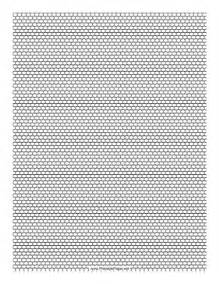 Beading Templates by Printable Seed Bead Brick Pattern