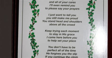 merry christmas  heaven poem printable living  good life  grandmaville merry