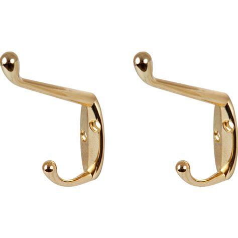 coat hooks hat coat hook brass toolstation