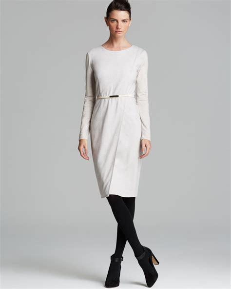 Maxmara Dress max mara dress crusca jersey in gray lyst