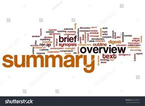 summary word cloud concept stock illustration 227298511