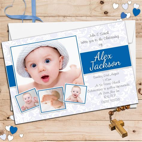 Baptism Invitation Baptism Invitation For Boys Baptism Vitations Baptism Vitations Christening Invitation Template 2
