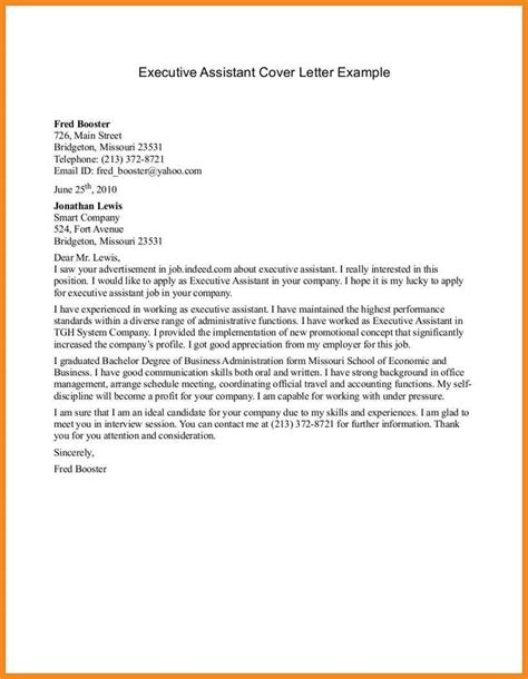 Cover Letter Administrative Assistant by Cover Letter Exles For Students With No Experience Resume Exles