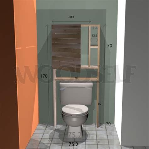 Etagere Papier Toilette 65 by Armoire Sur Toilettes Woodself Le Site Des Plans De