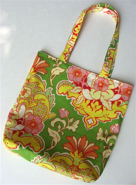 Handmade Tote Bag Tutorial - easy purse pattern handmade tote bag tutorial