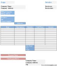 free invoice form template form free invoice template studio design