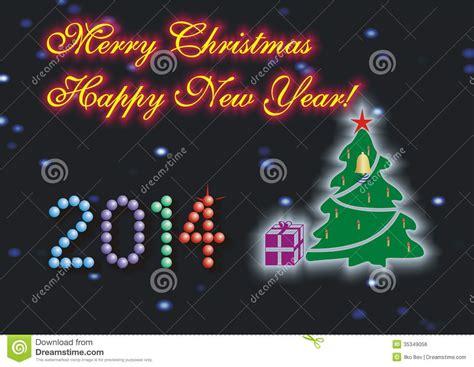 merry happy new year in merry happy new year stock photo image 35349056