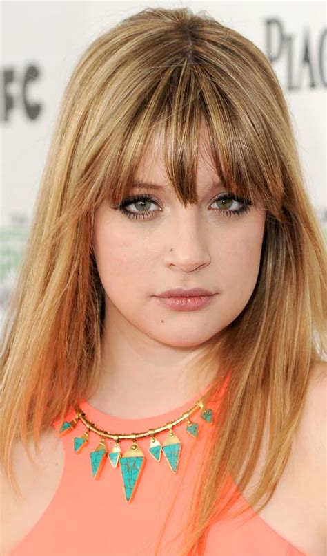 fron fringe hair styles the gallery for gt wispy front bangs