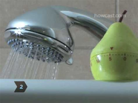 How To Take A Fast Shower by How To Save Water By Taking A Shorter Shower