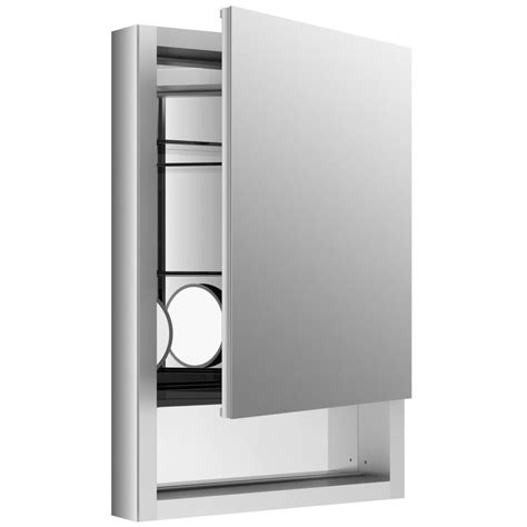 kohler recessed medicine cabinet shop kohler verdera 20 in x 30 in rectangle surface