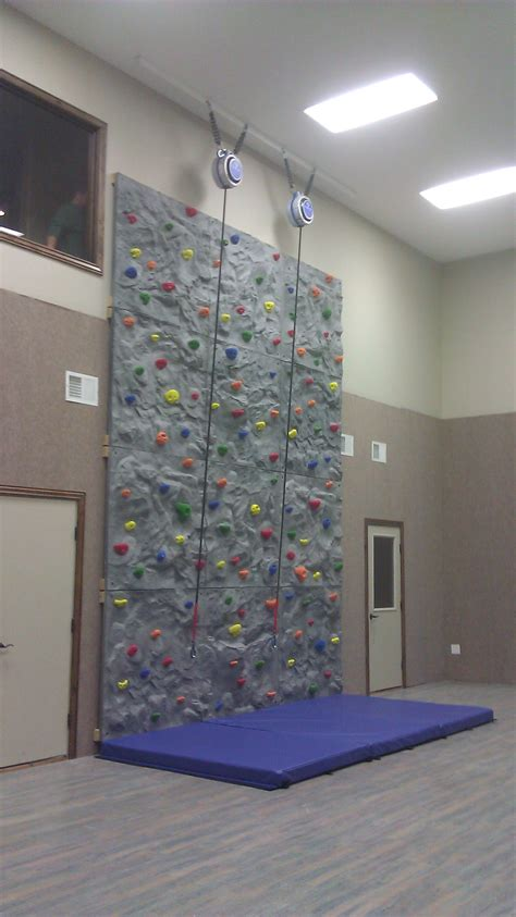 build a climbing wall spectrum sports int l