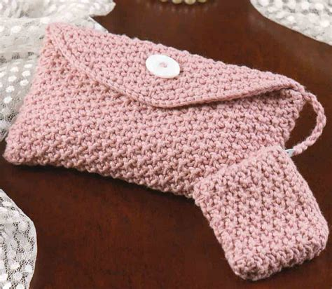 knitted purse patterns silky pink evening bag with coin purse knitting bee