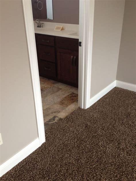 paint colors  dark brown carpet google search