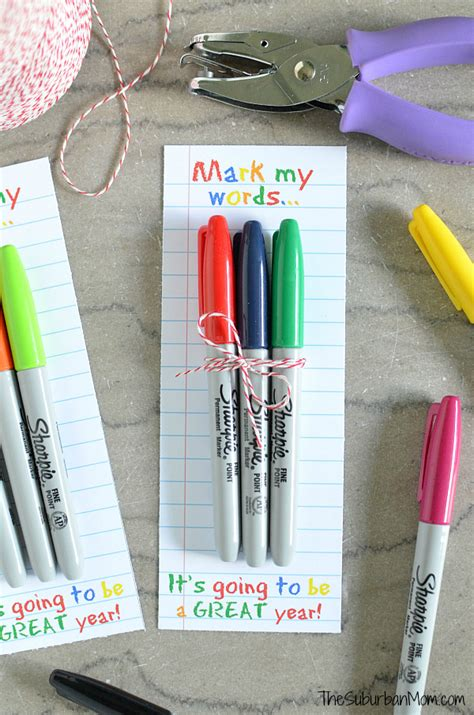 10 back to school gifts teachers really need sharpie s gift printable