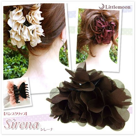 littlemoon japanese hair accessories sirena hairclip
