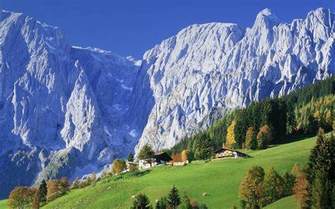 hd stuning scenery  austrian alps wallpaper