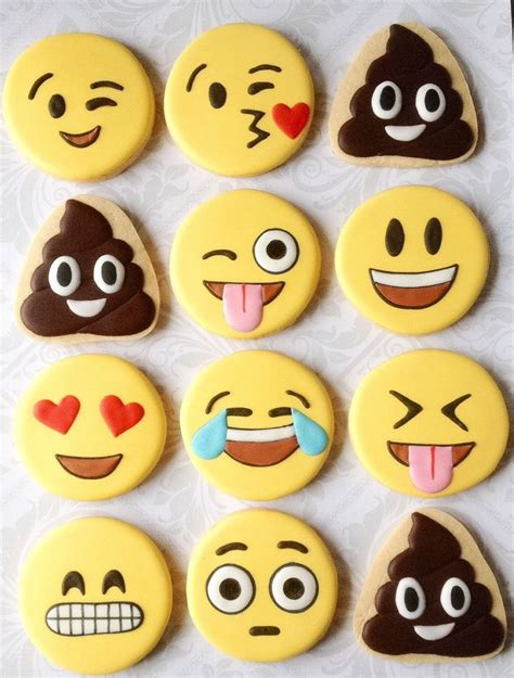 cookie emoji 25 best ideas about emoji cake on birthday