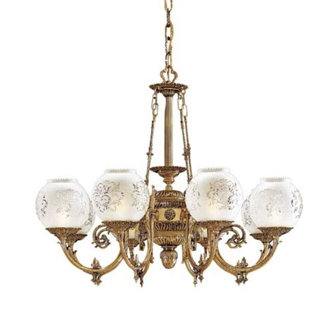 etched glass chandelier 635n801908