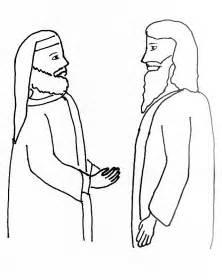 free bible coloring pages nicodemus bible story coloring page for jesus and nicodemus free