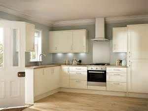 Kitchen Paint Colors With Oak Cabinets And Stainless Steel Appliances emly ivory shaker value kitchen