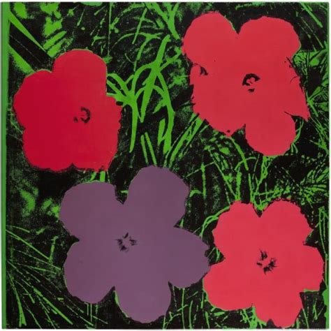 fiori warhol warhol flower paintings reevaluated in new show artlyst