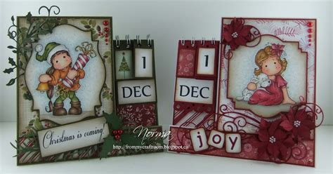 Advent Calendar Card Template by From My Craft Room Template For Advent Calendar Card