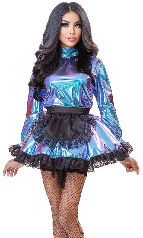 sienna holographic french maid hol
