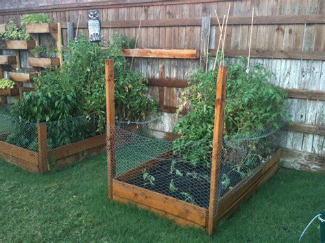 backyard herb garden ana white cedar boxes diy projects