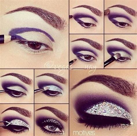 makeup for new year 25 happy new year s eye makeup tutorials 2015